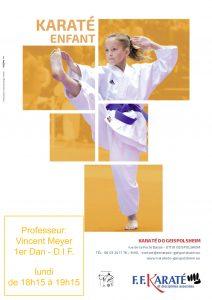 Entrainement Karaté Enfants @ Karaté Enfants | Geispolsheim | Alsace | France