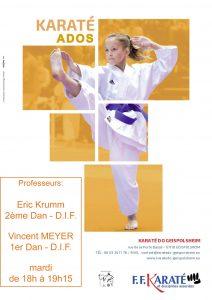 Entrainement karaté Ados @ Dojo Centre Sportif | Geispolsheim | Alsace-Champagne-Ardenne-Lorraine | France